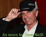 Sam Neill (Jurassic Park) wear 2C Polar cap - click for news